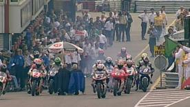 This year Marc, Jorge and Valentino are fighting for the pole record. Doohan follows with 58 - here he remembers his Assen pole in 1998.