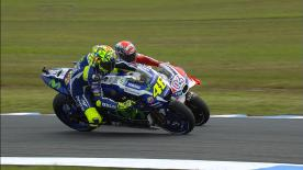 A look back at some of the masterful overtaking moves that took place at the #AustralianGP