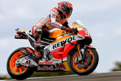 """Marquez: """"I'm curious about the track surface"""""""