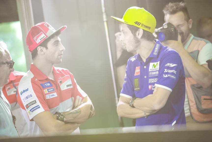 Andrea Iannone, Valentino Rossi, Shell Malaysia Motorcycle Grand Prix