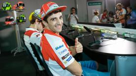 Andrea Iannone can't wait to get back onto a race track in Malaysia, even though he has
