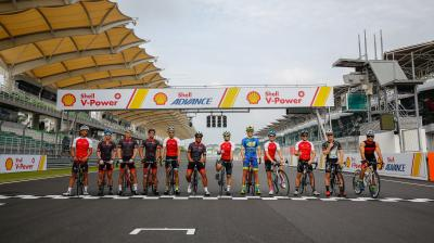 Pedal power: action opens in Sepang