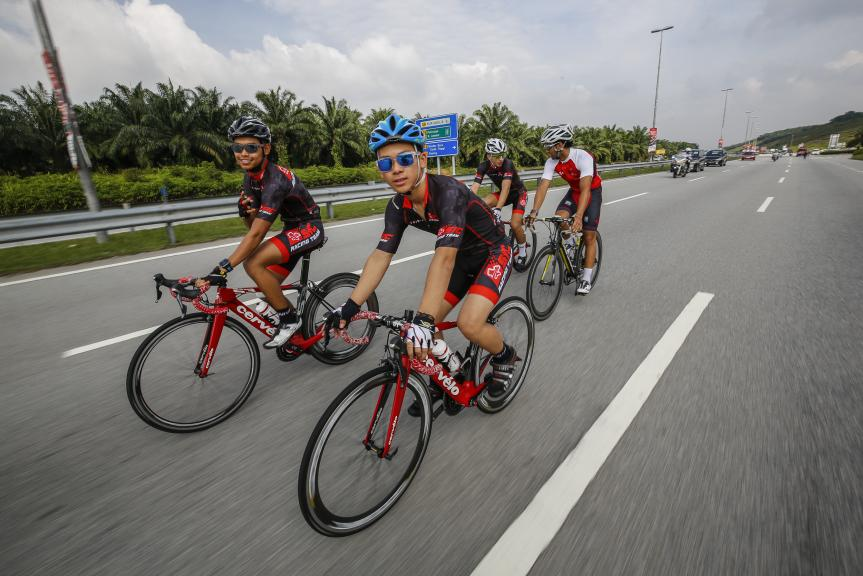 Pre-event Shell Malaysia Motorcycle Grand Prix