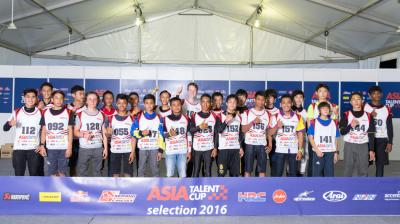 17 riders through to 2017 Asia Talent Cup