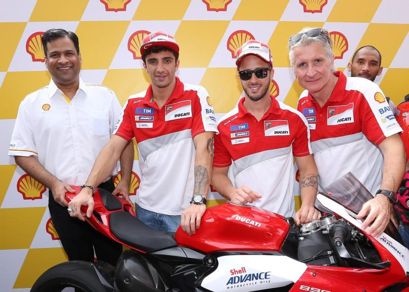 Shell - Ducatti