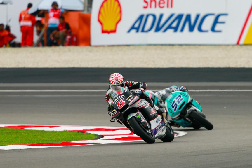 Johann Zarco, Ajo Motorsport and Danny Kent, Leopard Racing, Shell Malaysia Motorcycle Grand Prix