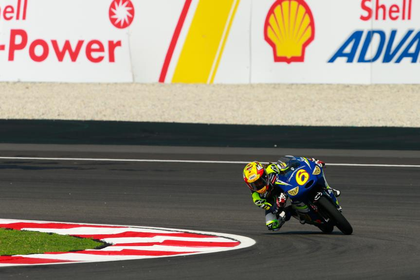 Maria Herrera, MH6 Laglisse, Shell Malaysia Motorcycle Grand Prix