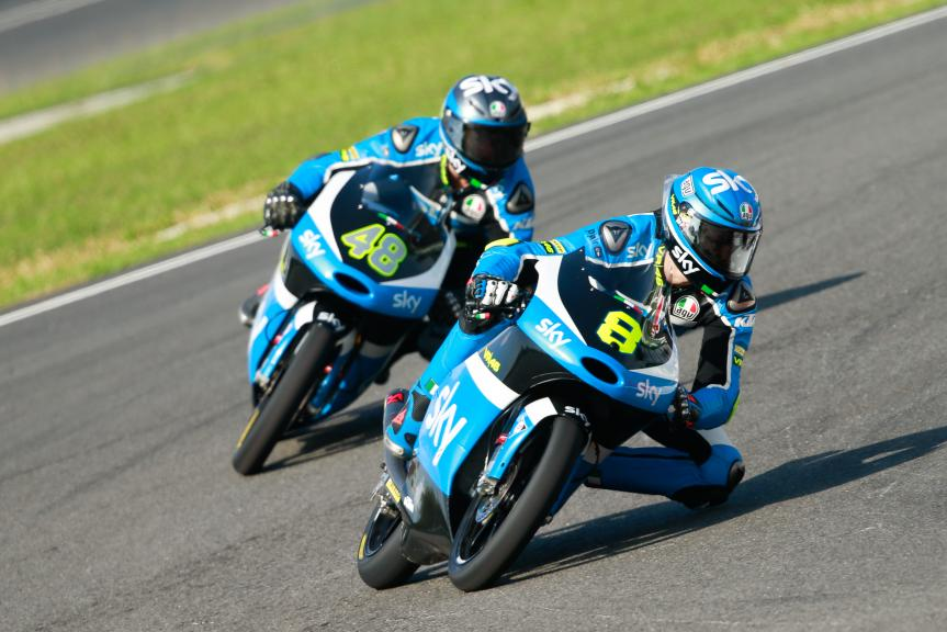 Nicolo Bulega and Lorenzo Dalla Porta, SKY Racing Team VR46, Shell Malaysia Motorcycle Grand Prix