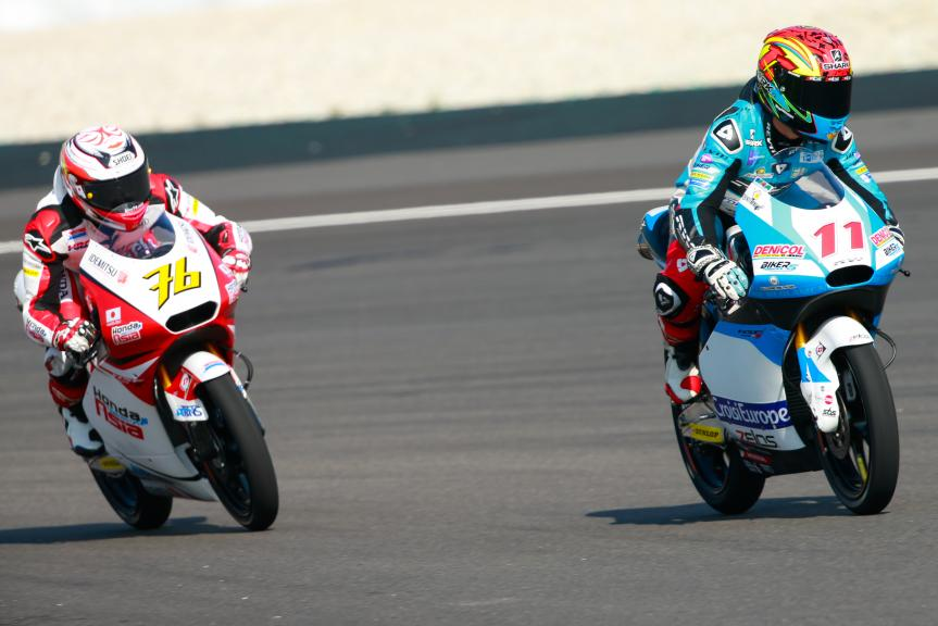 Livio Loi, RW Racing Grand Prix BV and Hiroki Ono, Honda Team Asia, Shell Malaysia Motorcycle Grand Prix
