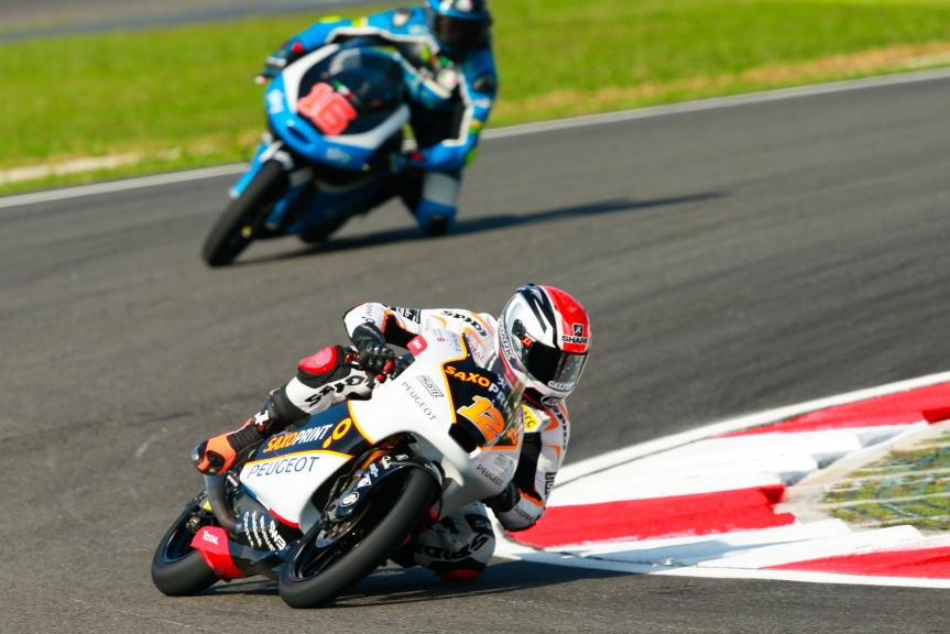 Albert Arenas, Peugeot MC Saxoprint and Andrea Migno, SKY Racing Team VR46, Shell Malaysia Motorcycle Grand Prix