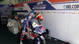La prima sessione di prove libere per la Moto3™ sulla pista di Sepang.