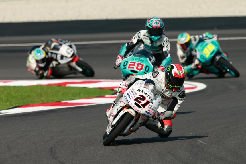 Francesco Bagnaia, ASPAR Mahindra Team Moto3 and Fabio Quartararo, Leopard Racing, Shell Malaysia Motorcycle Grand Prix