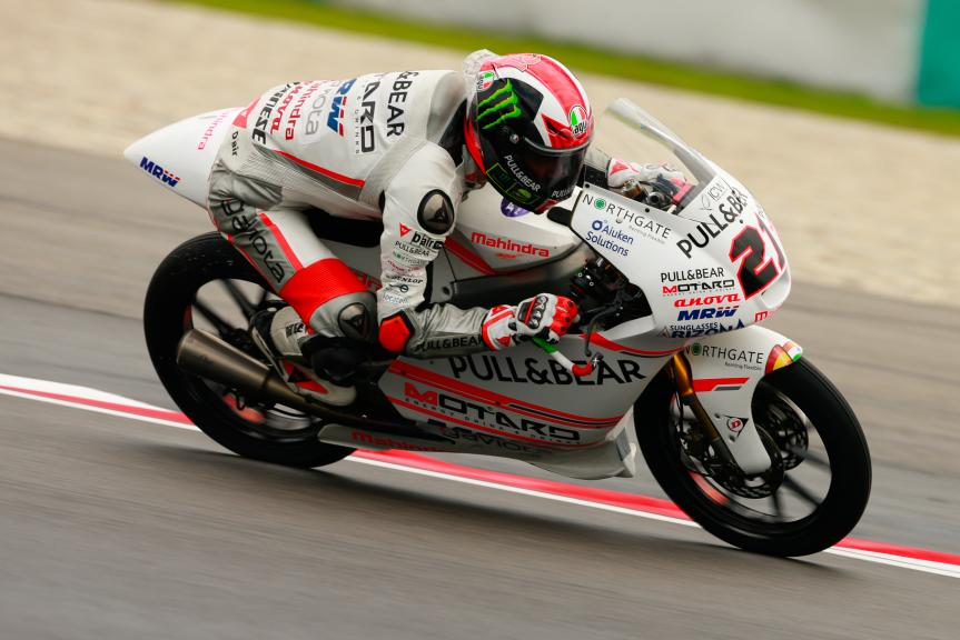 Francesco Bagnaia, ASPAR Mahindra Team Moto3, Shell Malaysia Motorcycle Grand Prix