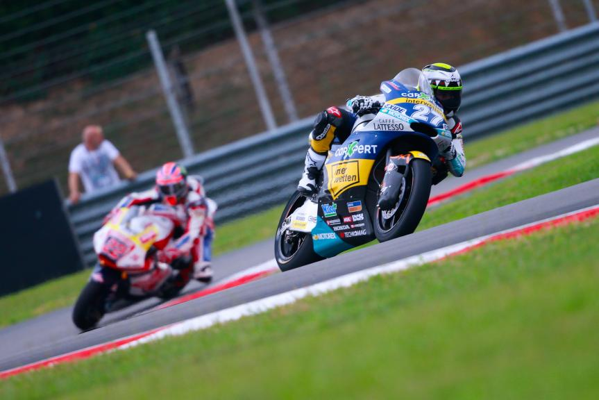 Iker Lecuona, CarXpert Interwetten and Sam Lowes, Federal Oil Gresini Moto2, Shell Malaysia Motorcycle Grand Prix