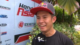 Il pilota di casa è secondo nel primo giorno di libere a Sepang.