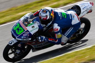Bastianini out, replaced by Sasaki