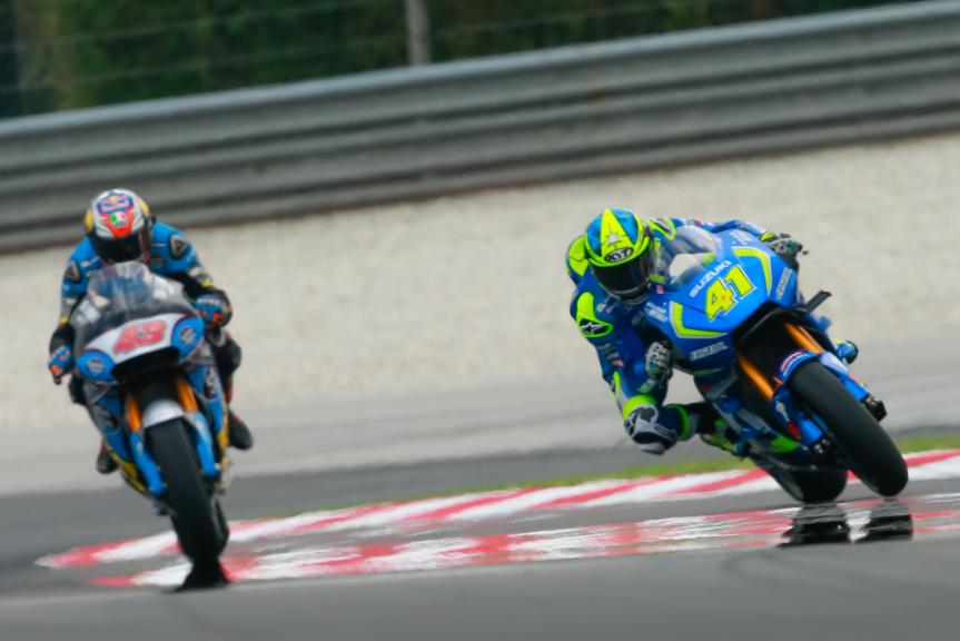 Aleix Espargaro, Team SUZUKI ECSTAR, Shell Malaysia Motorcycle Grand Prix