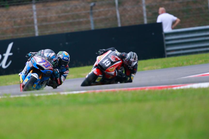 Alex Marquez, Estrella Galicia 0,0 Marc VDS and Axel Pons, AGR Team, Shell Malaysia Motorcycle Grand Prix