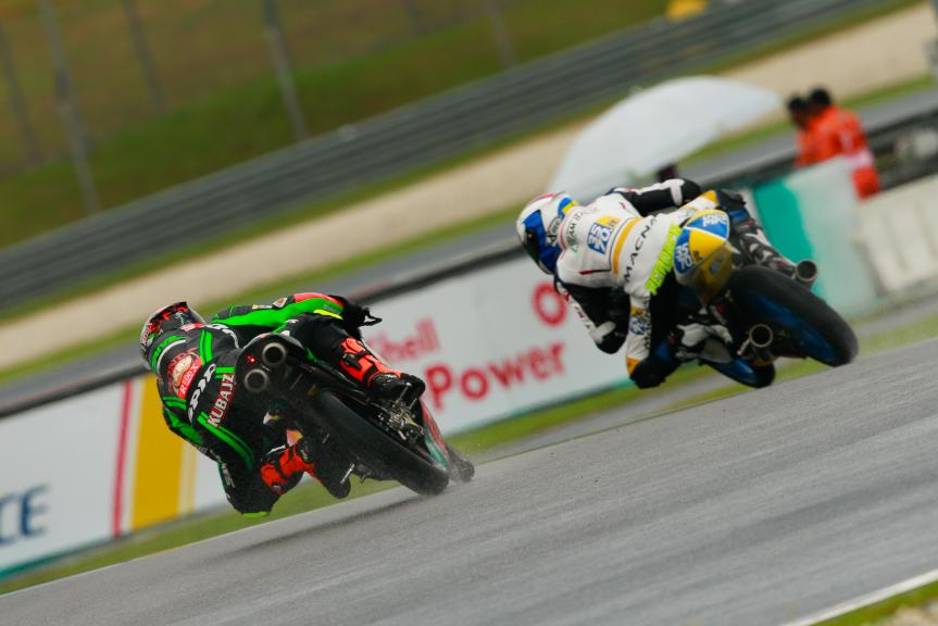 Jakub Kornfeil, Drive M7 SIC Racing Team and Lorenzo Petrarca, 3570 Team Italia, Shell Malaysia Motorcycle Grand Prix