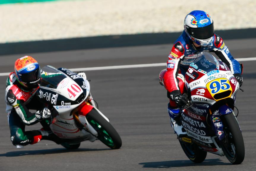 Jules Danilo, Ongetta-Rivacold and Darryn Binder, Platinum Bay Real Estate, Shell Malaysia Motorcycle Grand Prix