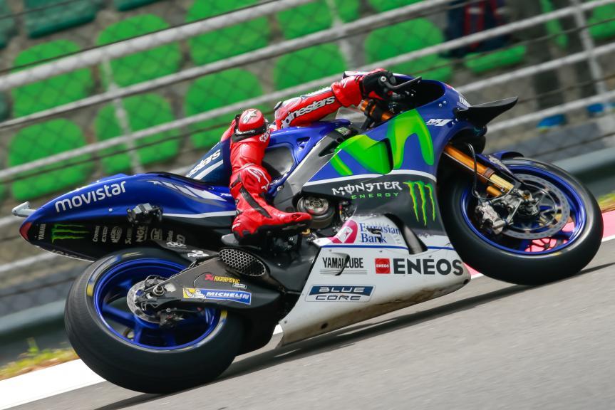 Jorge Lorenzo, Movistar Yamaha MotoGrand Prix, Shell Malaysia Motorcycle Grand Prix