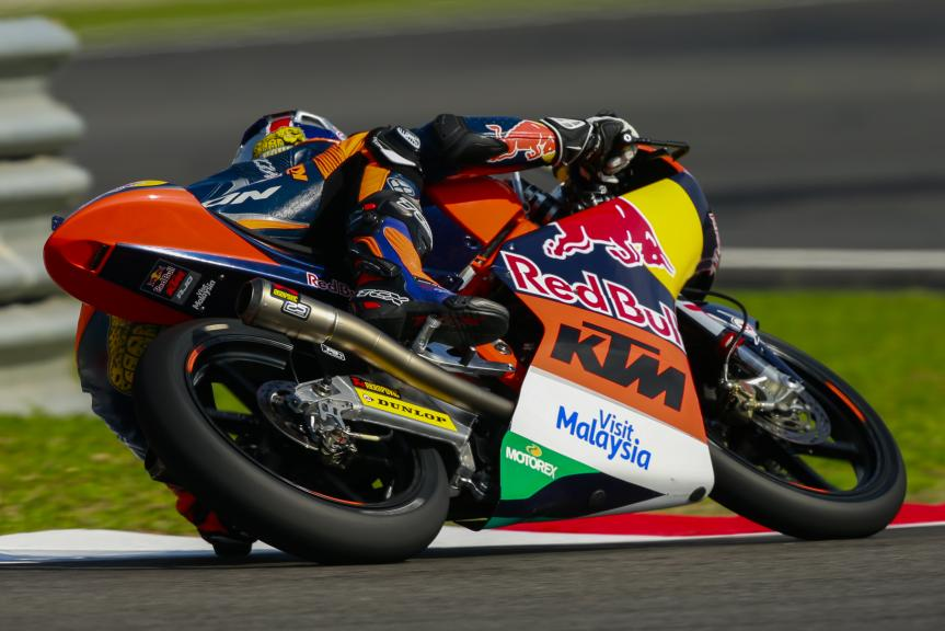 Brad Binder, Red Bull KTM Ajo, Shell Malaysia Motorcycle Grand Prix