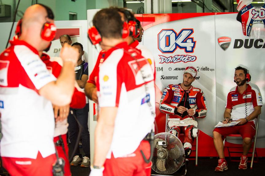 Andrea Dovizioso, Ducati Team, Shell Malaysia Motorcycle Grand Prix © 2016 Scott Jones, PhotoGP