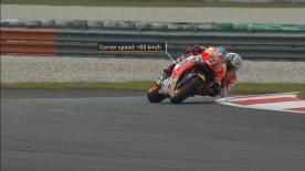 The MotoGP™ riders had a first run at the modified turn 15 during Free Practice 1 at the Sepang International Circuit on Friday
