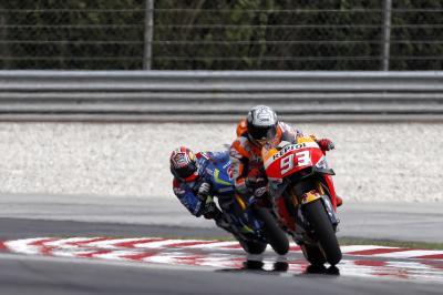 FP1 MotoGP™: Marquez ist Schnellster