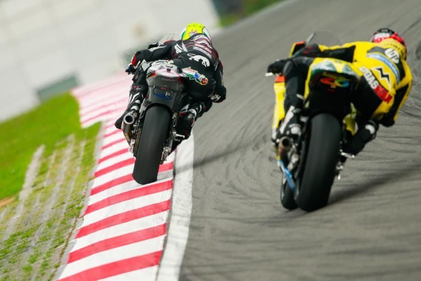 Johann Zarco, Ajo Motorsport and Edgar Pons, Paginas Amarillas HP 40, Shell Malaysia Motorcycle Grand Prix