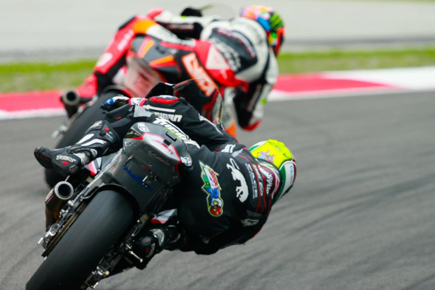 Johann Zarco, Ajo Motorsport and Luca Marini, Forward Team, Shell Malaysia Motorcycle Grand Prix
