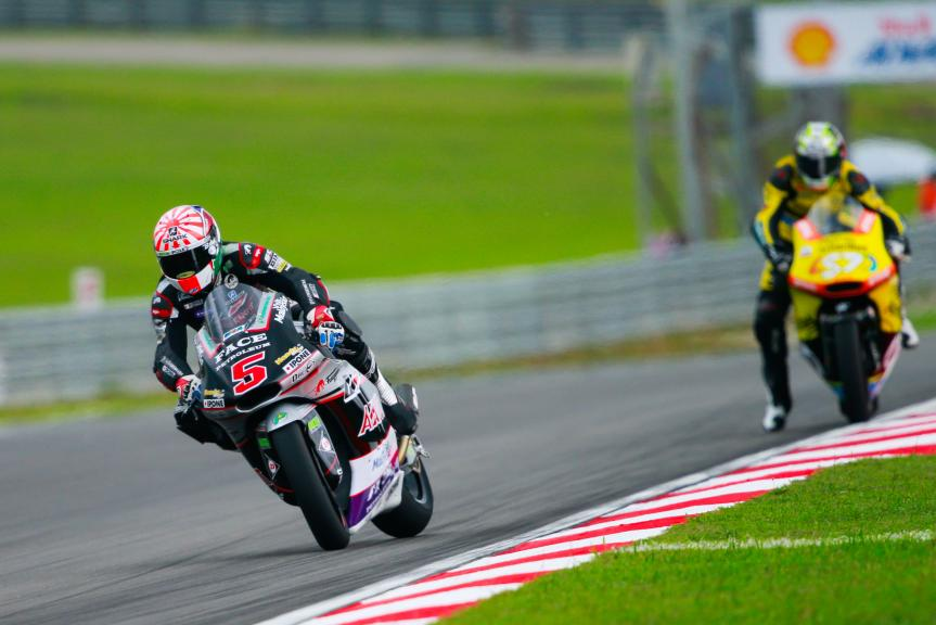 Johann Zarco, Ajo Motorsport and Edgar Pons, Paginas Amarillas HP 40, Shell Malaysia Motorcycle Grand Prix