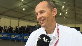 Nicolas Goubert direttore tecnico Michelin commenta le prestazioni delle gomme al #MalaysianGP.