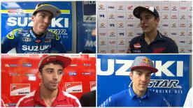 I protagonisti del MotoGP™ commentano i risultati delle qualifiche a Sepang.