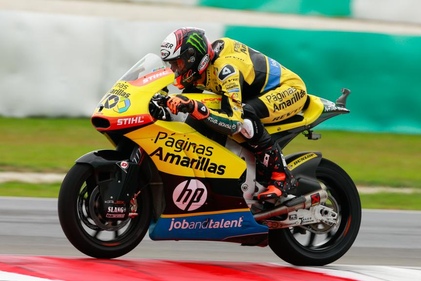 Alex Rins, Paginas Amarillas HP 40, Shell Malaysia Motorcycle Grand Prix