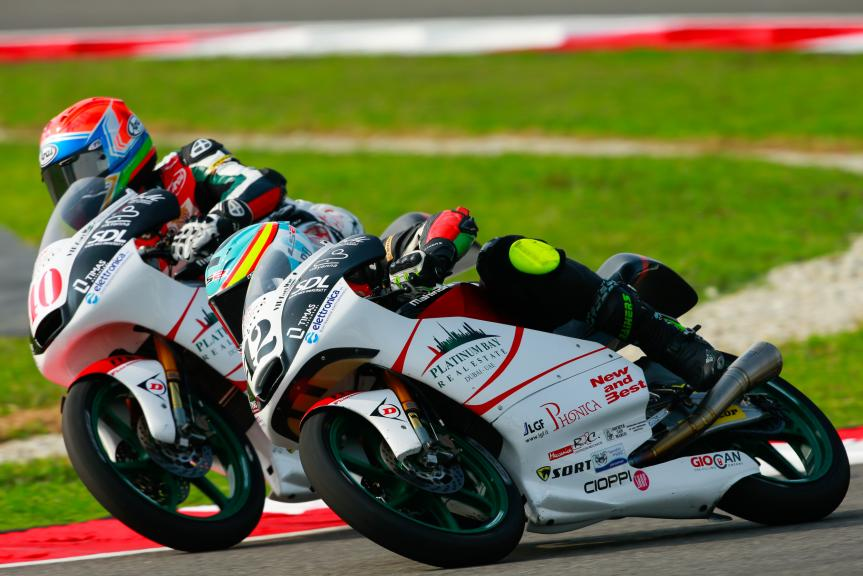 Marcos Ramirez and Darryn Binder, Platinum Bay Real Estate, Shell Malaysia Motorcycle Grand Prix