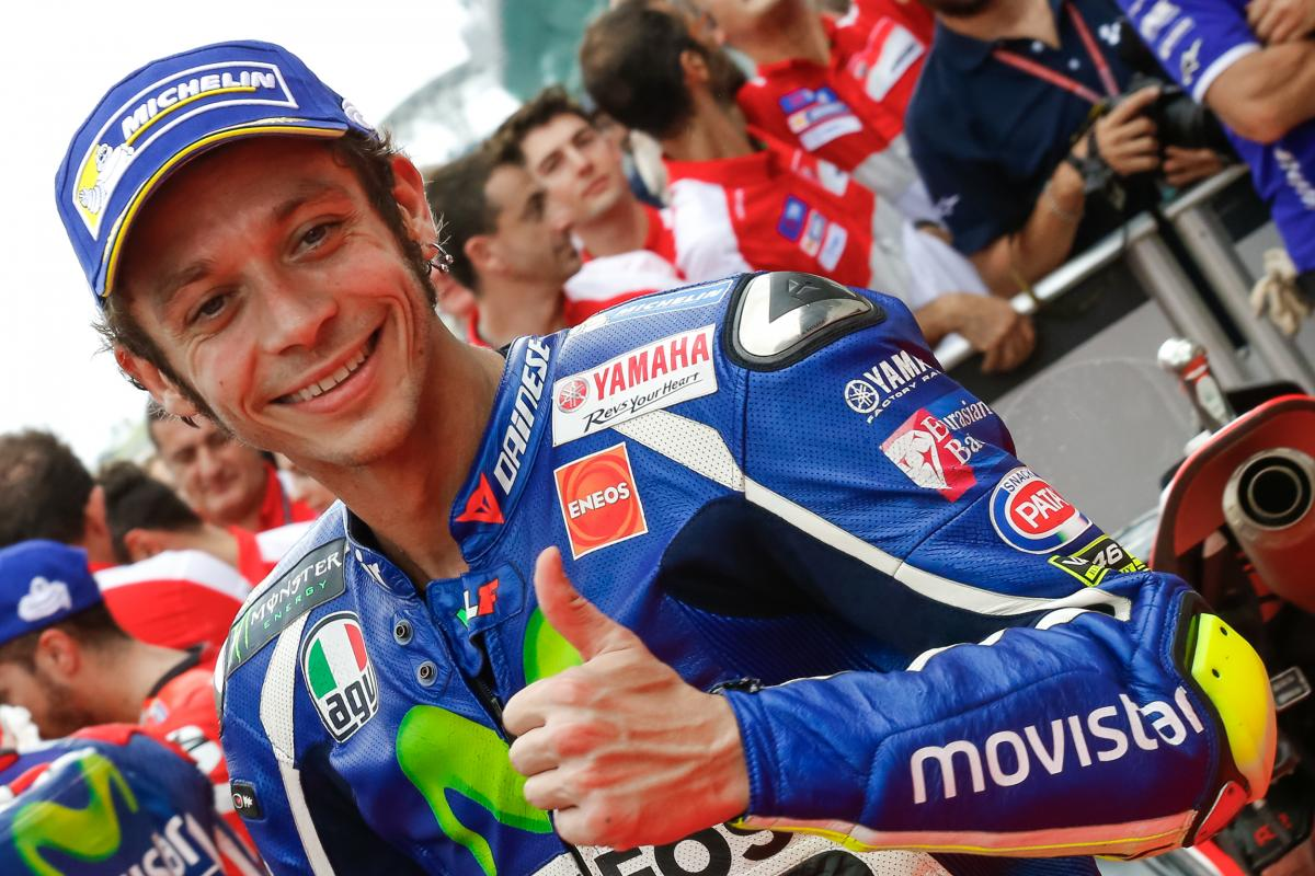 rossi the top four have similar race pace motogp. Black Bedroom Furniture Sets. Home Design Ideas