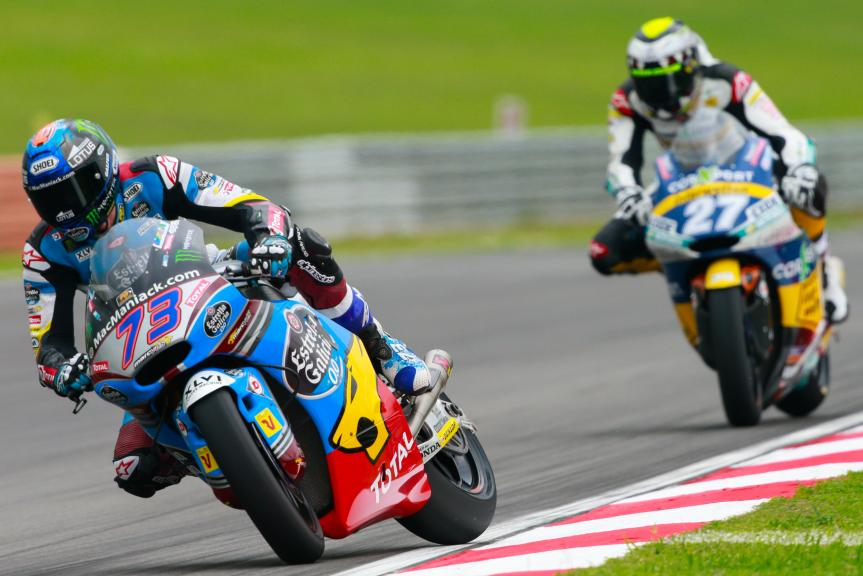 Alex Marquez, Estrella Galicia 0,0 Marc VDS and Iker Lecuona, CarXpert Interwetten, Shell Malaysia Motorcycle Grand Prix