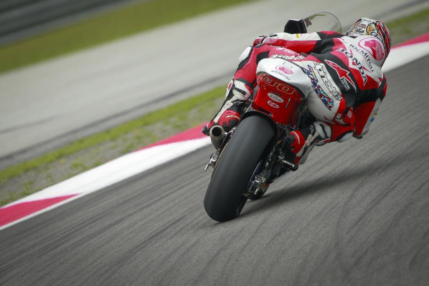 Takaaki Nakagami, IDEMITSU Honda Team Asia, Shell Malaysia Motorcycle Grand Prix