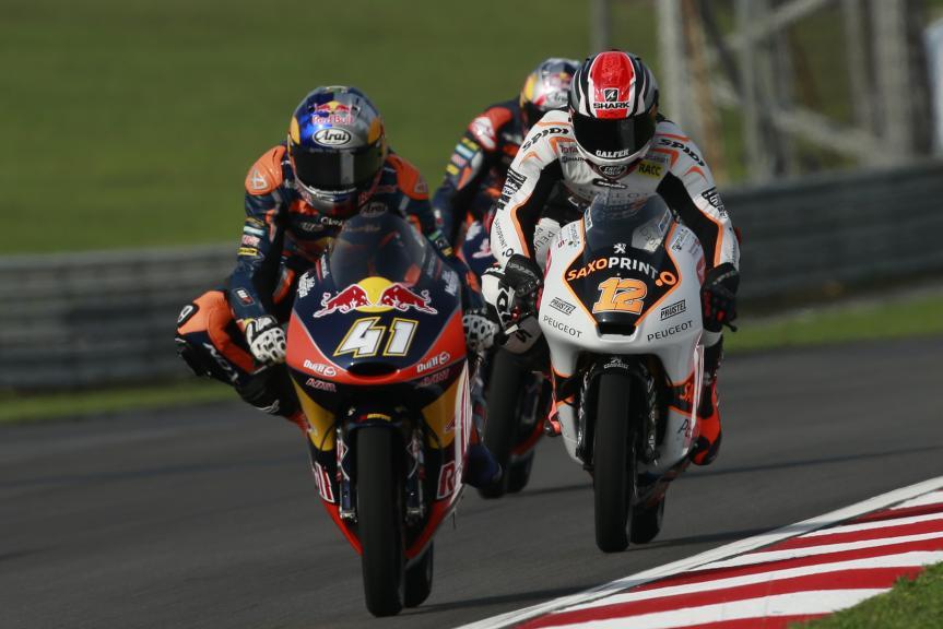 Brad Binder, Albert Arenas, Shell Malaysia Motorcycle Grand Prix