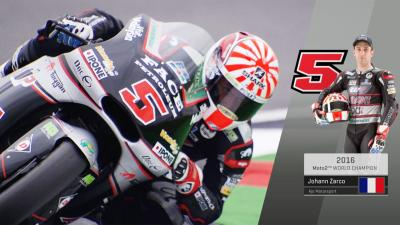 #2arco: Moto2™クラスチャンピオン - ヨハン・ザルコ