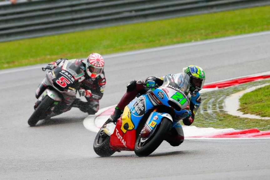 Franco Morbidelli, Estrella Galicia 0,0 Marc VDS and ohann Zarco, Ajo Motorsport, Shell Malaysia Motorcycle Grand Prix