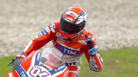 Le MotoGP™ tient son neuvième vainqueur de la saison 2016 suite au triomphe de Dovizioso devant Rossi et Lorenzo en Malaisie.