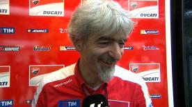 Luigi Dall'Igna, directeur général de Ducati Corse, confie qu'Andrea Dovizioso mérite cette victoire à Sepang.