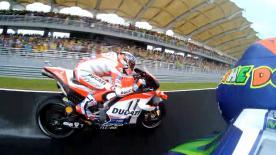 Der Rennstart zum MotoGP™ Lauf beim #MalaysianGP aus Sicht der Top-Piloten.