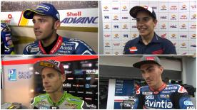 The fastest MotoGP™ riders give us feedback on their race results at the #MalaysianGP.