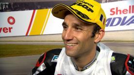 Der Franzose sichert sich seinen zweiten Moto2™ WM-Titel, nachdem er auf dem Sepang International Circuit gewann.