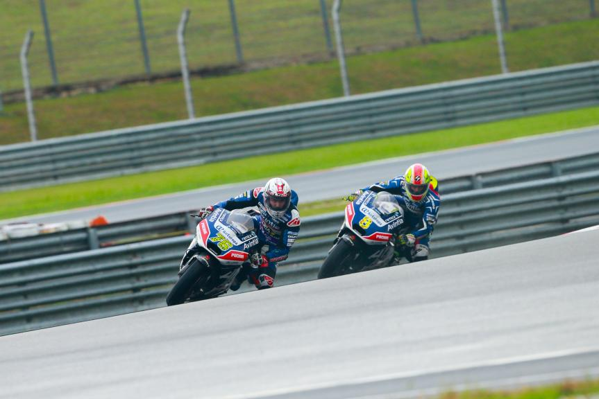 Loris Baz and Hector Barbera, Avintia Racing, Shell Malaysia Motorcycle Grand Prix
