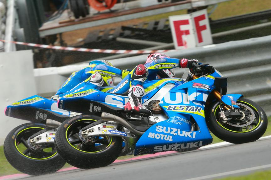 Maverick Viñales and Aleix Espargaro, Team SUZUKI ECSTAR, Shell Malaysia Motorcycle Grand Prix