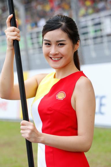 Paddock Girls, Shell Malaysia Motorcycle Grand Prix
